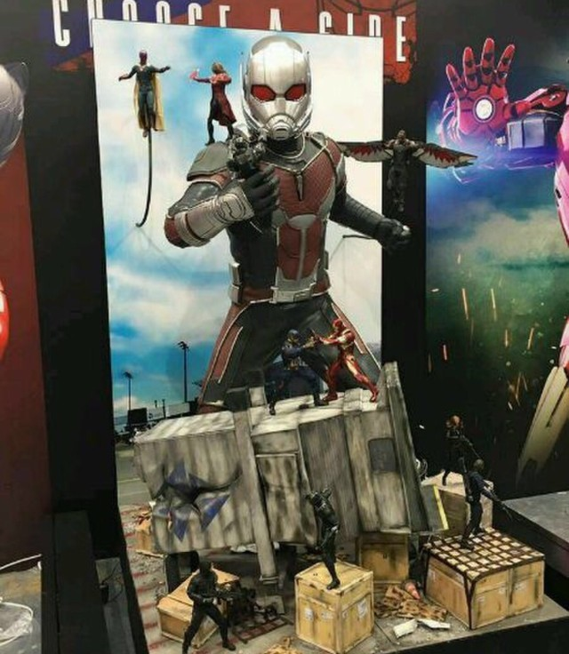 Hot Toys Toys Giant-Man Ani-Con Game Convention Hong Kong 2016