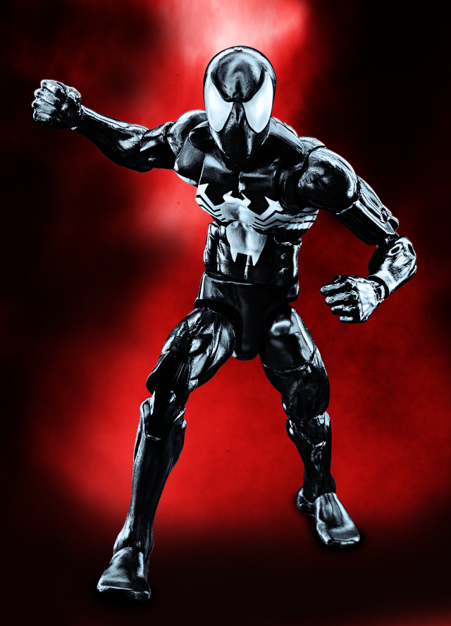Marvel Legends 2016 Black Costume Spider-Man Figure