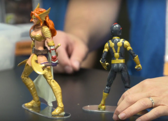 Marvel Legends 2017 Angela and Kid Nova 6 Inch Figures