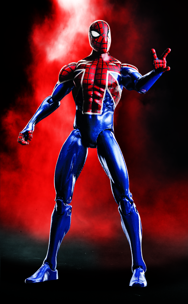 Marvel Legends 2017 Spider UK 4 Inch Figure