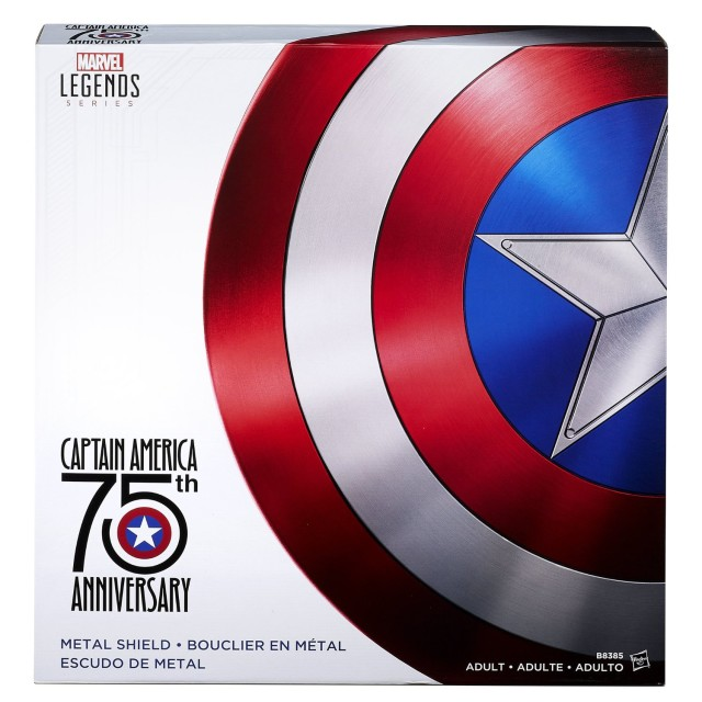 Marvel Legends Captain America Metal Shield Packaging Box