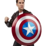 Life-Size Marvel Legends Captain America METAL Shield!