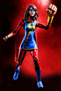 Marvel Legends Ms. Marvel Kamala Khan Figure
