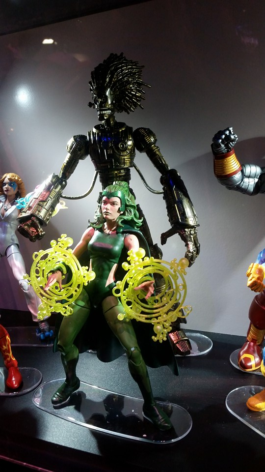 Marvel Legends Polaris and Warlock Build-A-Figure SDCC 2016