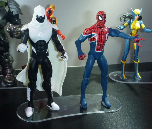 Marvel Legends SDCC 2016 Moon Knight and Spider UK Figures