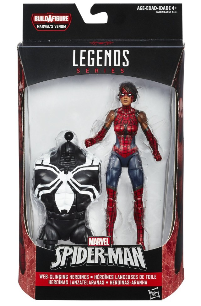 Marvel Legends Spider-Bitch Figure Packaged Ashley Barton