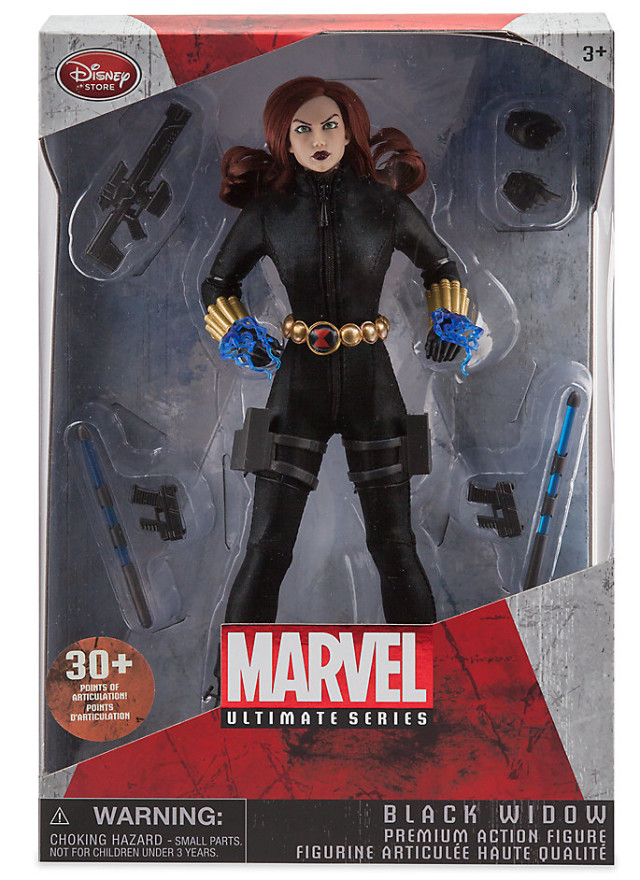 Marvel Ultimate Series Black Widow Figure Packaged