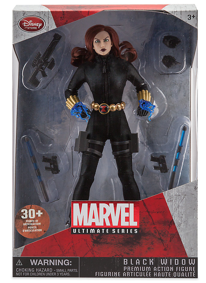 Ultimate black widow marvel