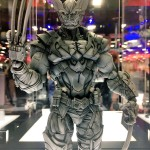 SDCC 2016: Play Arts Kai Deadpool & Wolverine Figures!