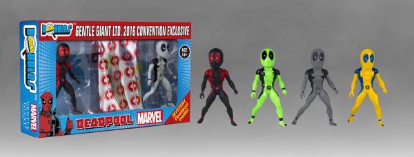 SDCC 2016 Exclusive Deadpool Micro Bobbles Figures