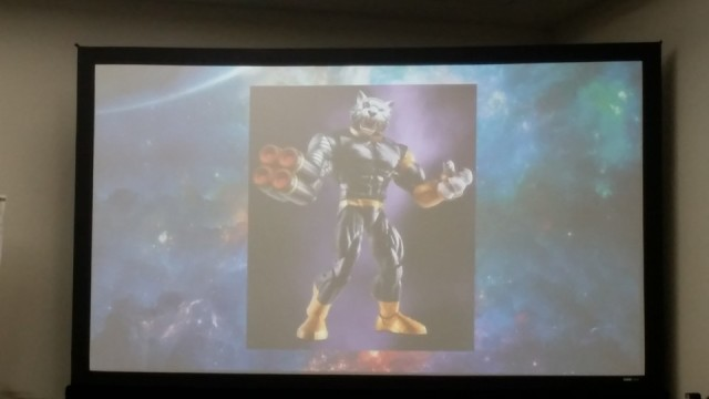 SDCC 2016 Hasbro Marvel Panel Marvel Legends Titus Build-A-Figure