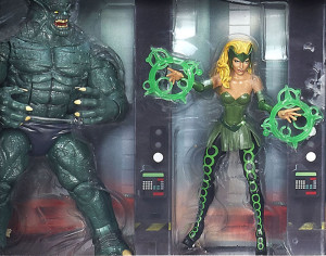 SDCC 2016 Marvel Legends Enchantress and Abomination Figures