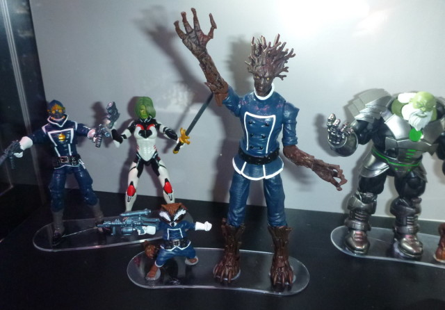SDCC 2016 Marvel Legends Groot and Rocket Raccoon 4 Inch Figures