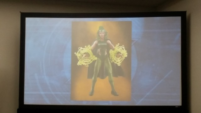 SDCC 2016 Marvel Legends Polaris Figure Hasbro Panel