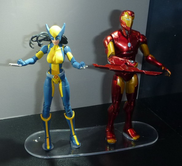 SDCC 2016 Marvel Legends X-23 Wolverine and Iron Man 2-Pack