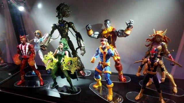 SDCC 2016 Marvel Legends X-Men 2017 Figures Display