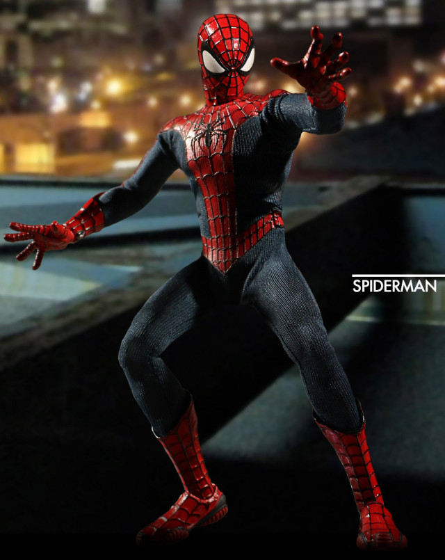 SDCC 2016 Mezco ONE 12 Spider-Man Figure Preview