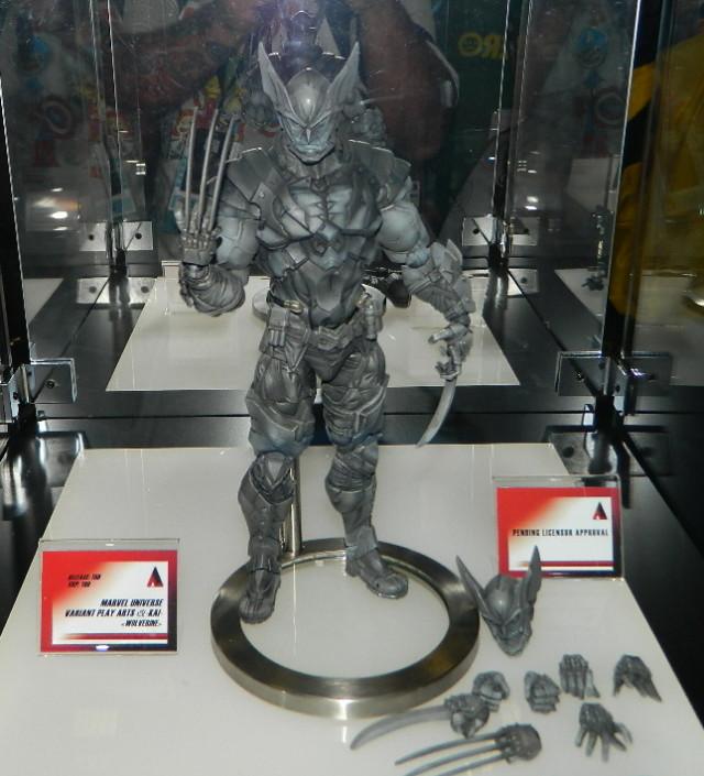 SDCC 2016 Play Arts Kai Wolverine Action Figure Square-Enix