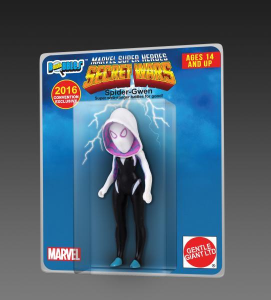 SDCC 2016 Spider-Gwen Secret Wars Exclusive Micro Bobble Figure