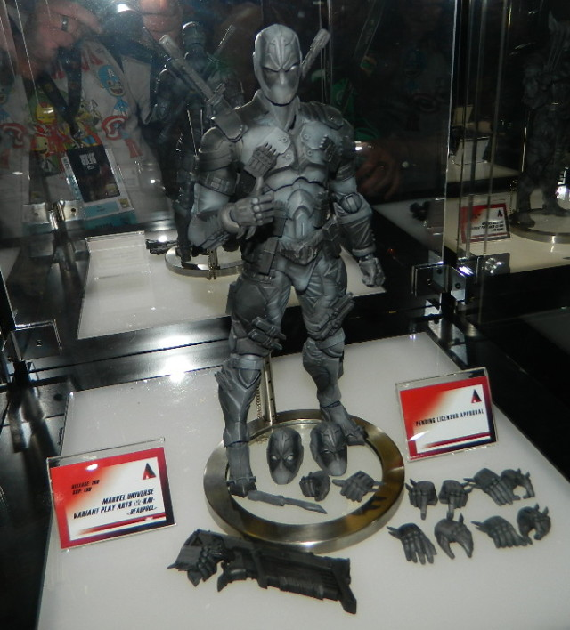 SDCC 2016 Square Enix Deadpool Play Arts Kai Prototype