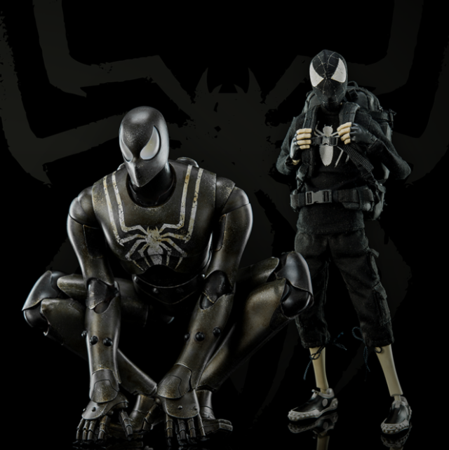 SDCC 2016 ThreeA Spider-Man Stealth Edition Figures