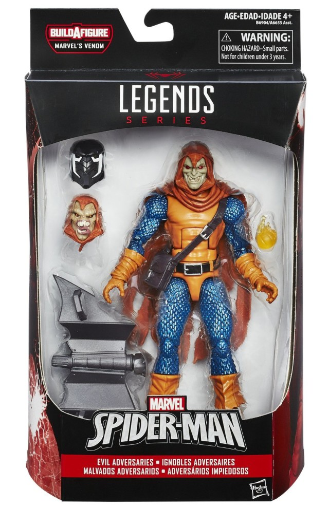 Spider-Man Marvel Legends Hobgoblin Figure Packaged