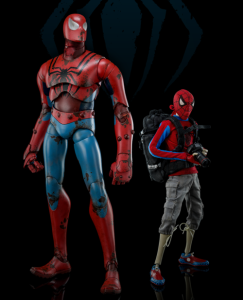 ThreeA Classic Spider-Man 12 Inch Figure Set