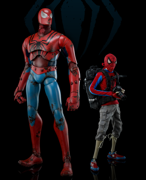 ThreeA Classic Spider-Man 12 Inch Figure Set