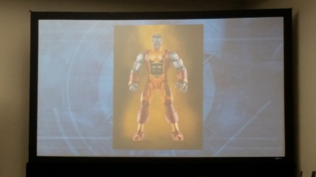 X-Men Marvel Legends Colossus 2017 Figure Slide