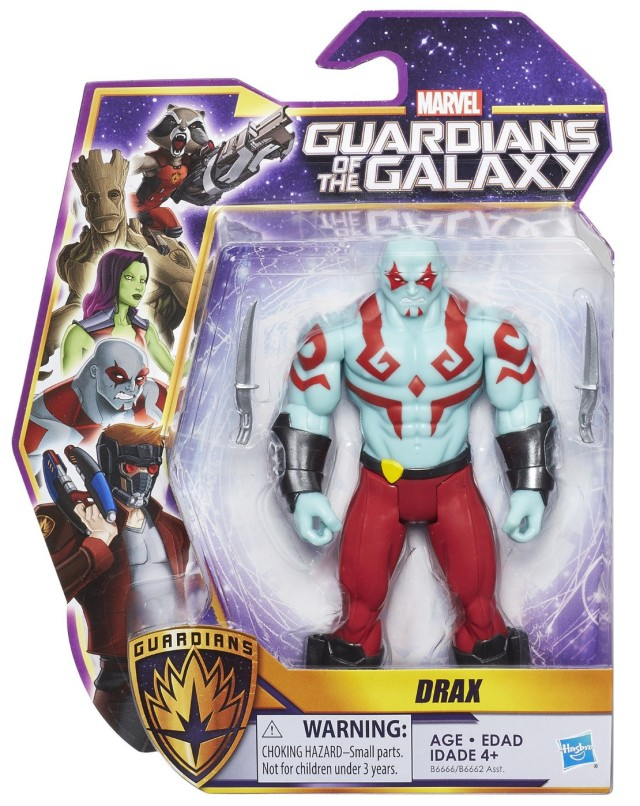 Animated Guardians of the Galaxy Drax Figure Packaged