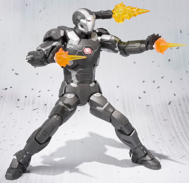 Bandai Figuarts War Machine Civil War Figure Effects Pieces