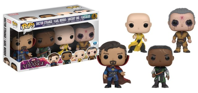 Disney Store Exclusive Funko Doctor Strange Four-Pack