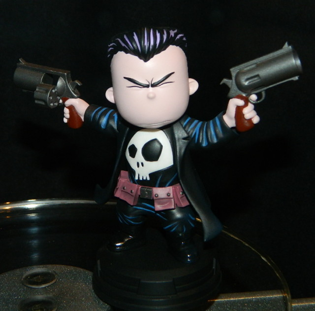 Gentle Giant Animated Punisher Statue SDCC 2016 Skottie Young Marvel Babies