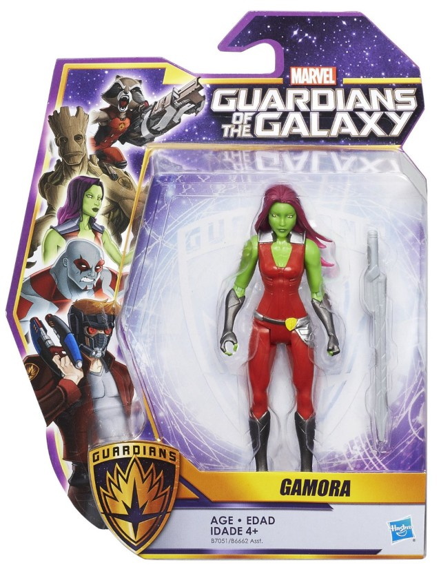 Guardians of the Galaxy Animated Gamora Figure Packaged