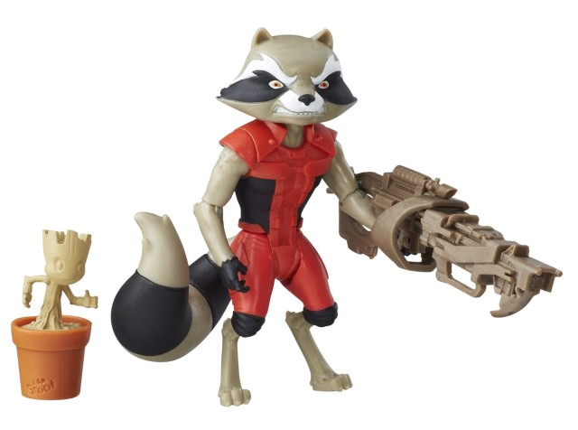Guardians of the Galaxy Animated Rocket Raccoon Action Figure
