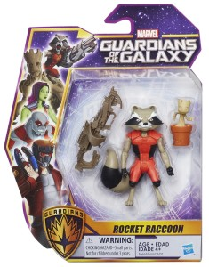 Guardians of the Galaxy Cartoon Toys Rocket Raccoon and Baby Groot