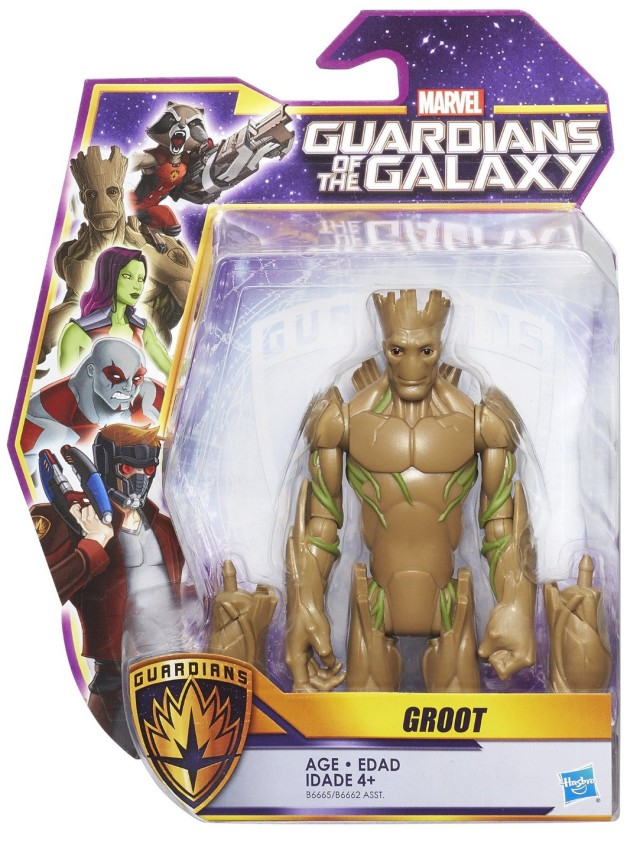 Hasbro Guardians of the Galaxy Animated Groot Figure Packaged