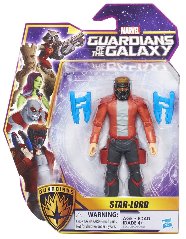 Hasbro Star-Lord Guardians of the Galaxy Figure Packaged