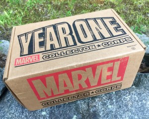 Funko Marvel Collector Corps Year One Box Review Unboxing