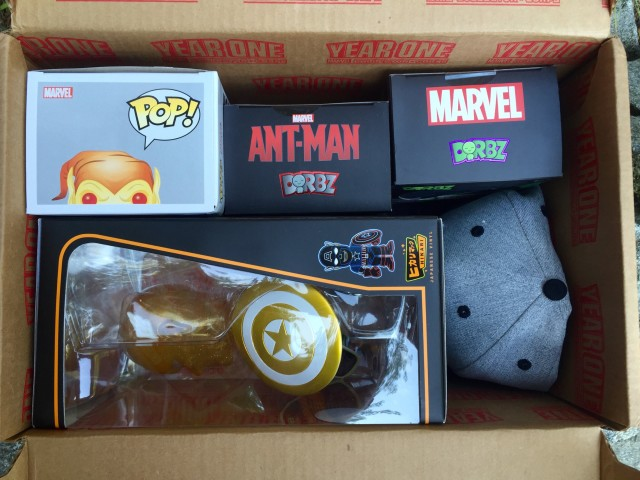 Funko Year One Collector Corps Box Unboxing Review