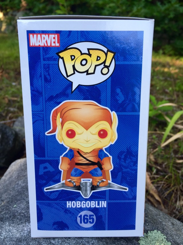 Marvel Collector Corps Hobgoblin POP Box Side