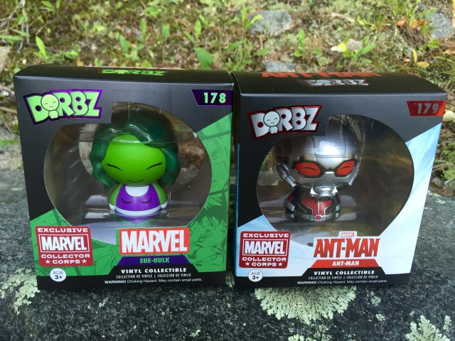 Marvel Collector Corps Year One Exclusive Dorbz She-Hulk Ant-Man