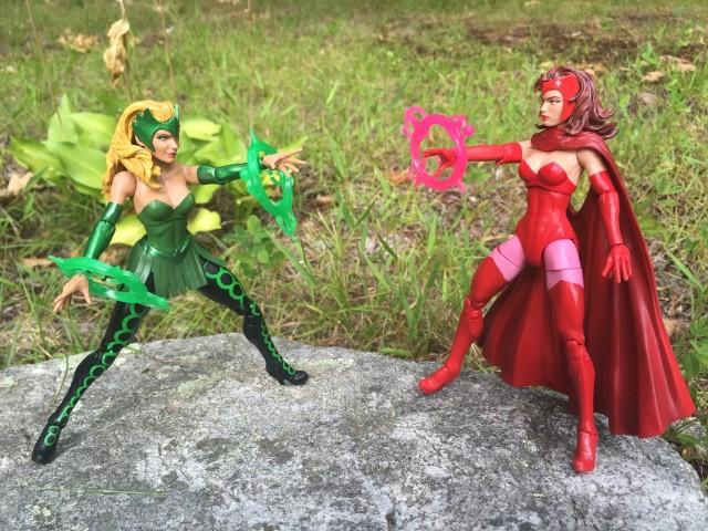 Marvel Legends Scarlet Witch vs. The Enchantress Figures