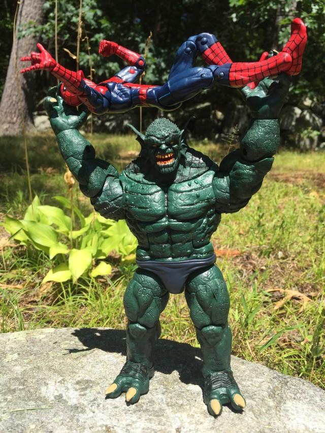 Abomination Marvel Legends Figure Throwing Spider-Man
