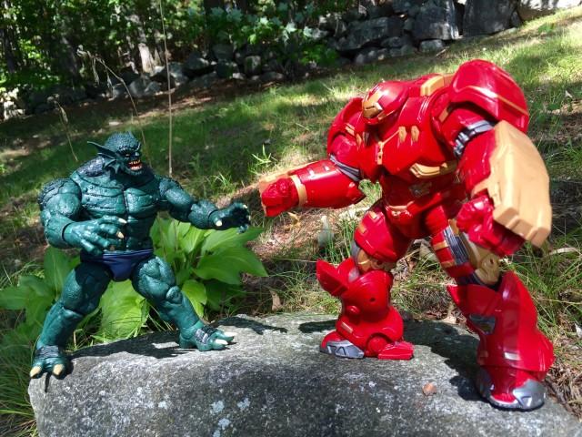 Marvel Legends Hulkbuster Iron Man vs Abomination