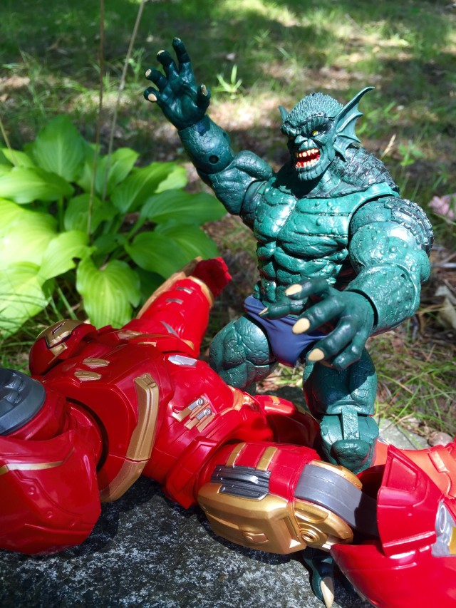 The Raft Marvel Legends Abomination Kills Hulkbuster Iron Man