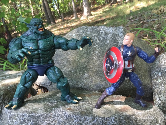 Marvel Legends Civil War Captain America vs. Abomination Figure