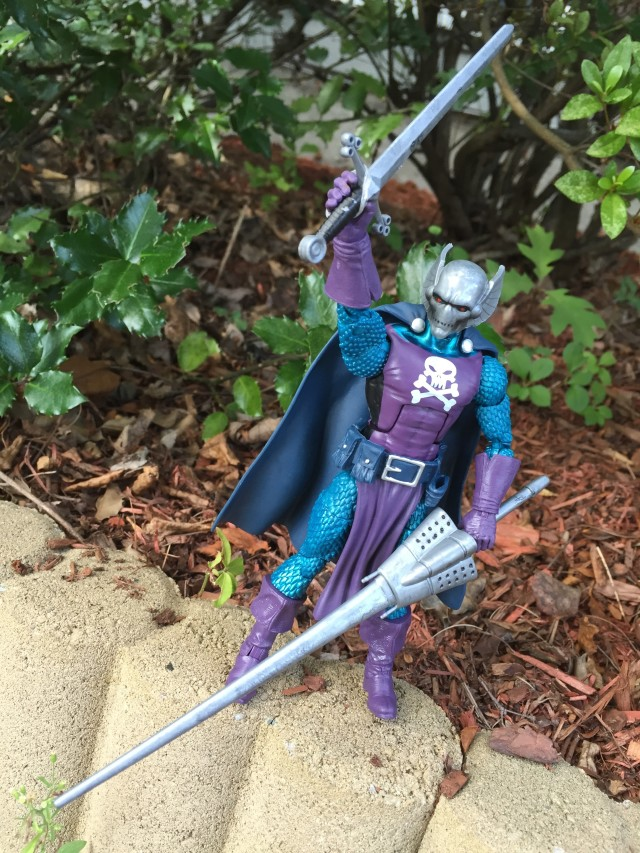 Dreadknight Marvel Legends Figure with Sword and Lance