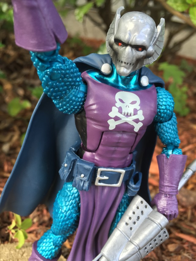 Close-Up of Dreadknight Marvel Legends Six Inch Figure