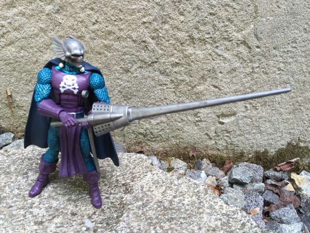 Hasbro SDCC 2016 Marvel Legends Dreadknight Wielding Lance